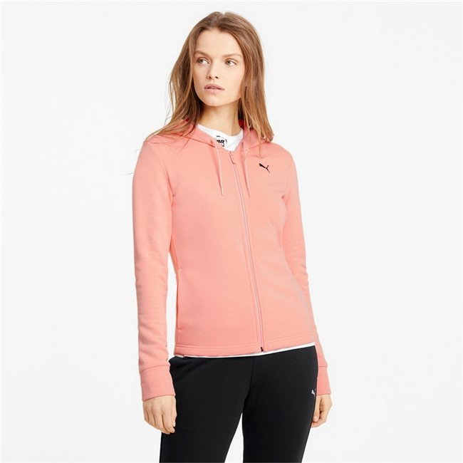 PUMA Classic Hd. Sweat Suit women sports suit, Colour: pale pink, Material: cotton, polyester