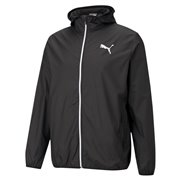 PUMA Essentials Solid Windbreaker men jacket, Colour: black, Material: polyester