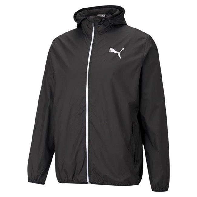 PUMA Essentials Solid Windbreaker men jacket, Colour: black, Material: polyester
