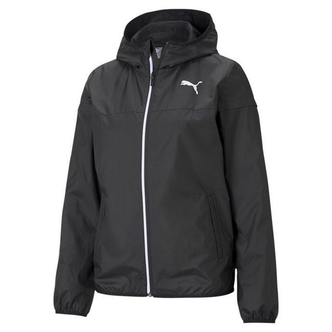 PUMA Essentials Solid Windbreaker women jacket, Colour: black, Material: polyester