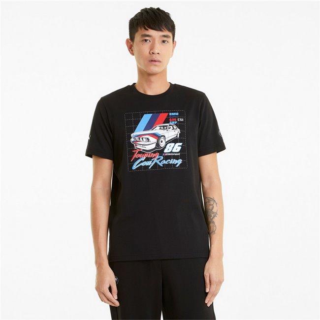 BMW MMS Vintage Tee men T-Shirt, Colour: black, Material: cotton