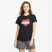 PUMA Heart Tee women T-Shirt