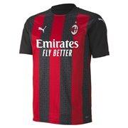 AC Milan Home Shirt Replica men T-Shirt