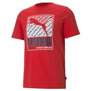 PUMA Cat Box Tee men T-Shirt