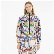 PUMA PI AOP Woven Track Jacket women jacket