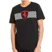 Ferrari Race Chcker Flag Tee men T-Shirt