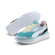 PUMA Cruise Rider Silk Road Wns women shoes, Colour: green, blue, Material: Upper: fabric, Midsole: IMEVA, Sole: rubber
