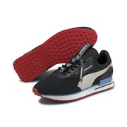 BMW MMS Future Rider shoes, Colour: black, white, red, Material: Upper: synthetic leather, Sole: rubber