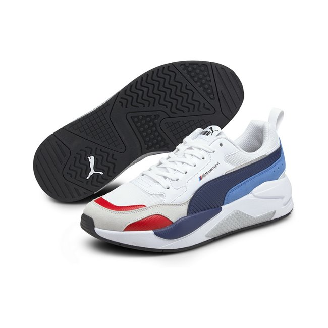BMW MMS X-RAY 2.0 shoes, Colour: white, blue, Material: Upper: synthetic leather, Sole: rubber