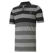 Ferrari Style Striped Polo men T-Shirt