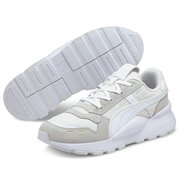 PUMA RS 2.0 Femme Wns women shoes, Colour: white, white, gold, Material: Upper: synthetic fibers, Sole: rubber