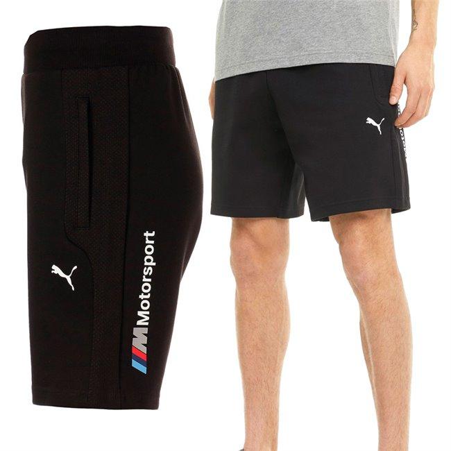 BMW MMS Sweat Shorts men shorts, Colour: black, Material: cotton, polyester