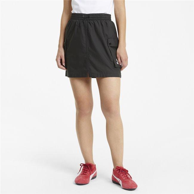 PUMA Classics Cargo Skirt women skirt, Colour: black, Material: polyester