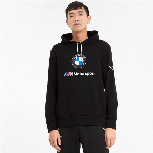 BMW MMS ESS Logo Hoodie TR men hooded sweatshirt, Colour: black, Material: cotton, polyester