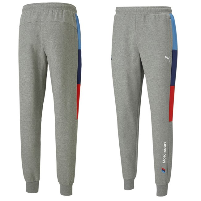 BMW MMS T7 Sweat Pants mens sweatpants, Colour: gray, Material: cotton, polyester