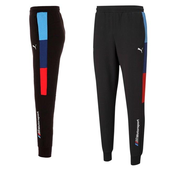 BMW MMS T7 Sweat Pants mens sweatpants, Colour: black, Material: cotton, polyester