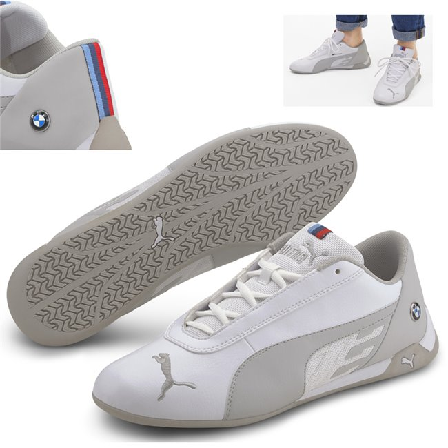 BMW MMS R-cat shoes, Colour: white, white, Material: Upper: synthetic leather, Sole: rubber