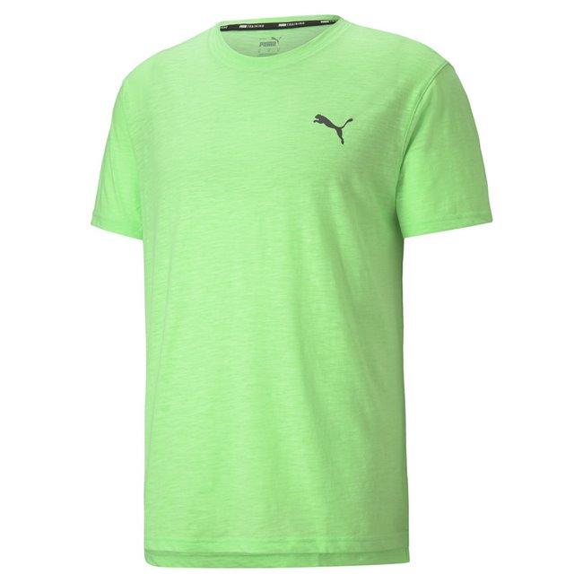 PUMA TRAIN FAV ENERGY SS TEE men T-Shirt, Colour: green, Material: polyester