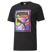 PUMA Graphic Tee Box Logo Play