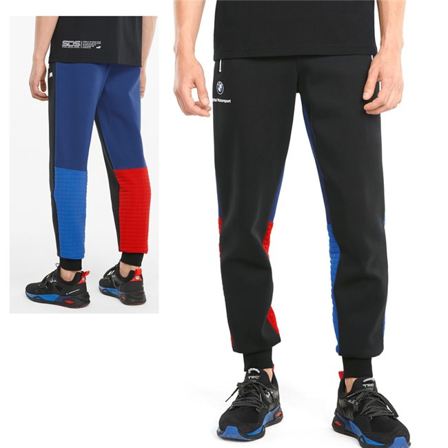 PUMA BMW MMS Sweatpants CC, Color: blue, Material: cotton, polyester