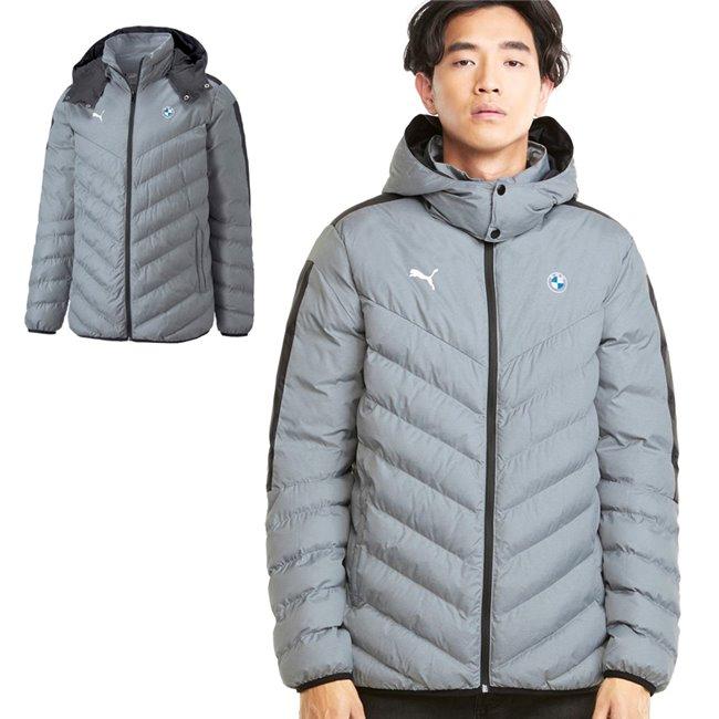 PUMA BMW MMS EcoLite Jacket, Color: gray, Material: nylon