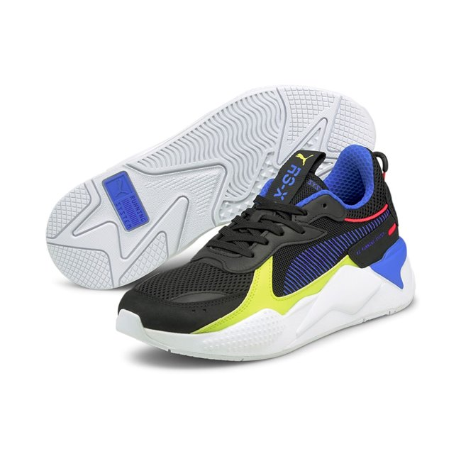 PUMA RS-X TOYS, Color: black, Material: fabric, rubber