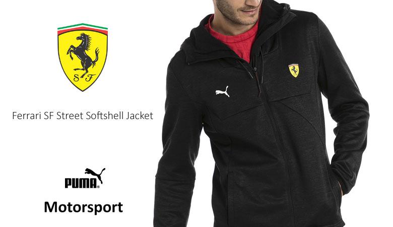Ferrari SF Street Softshell Jacket