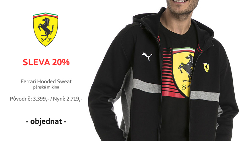 Sleva 20% - Ferrari SF Hooded Sweat