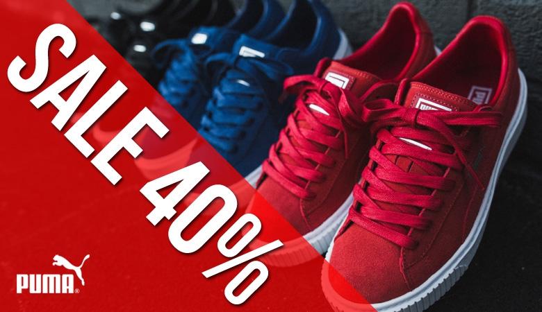 Sleva 40% na obuv PUMA