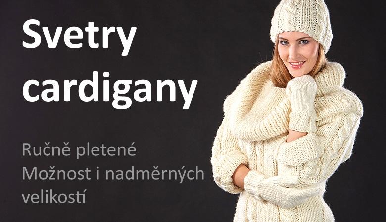 Ručně pletené svetry