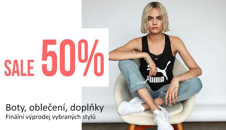 PUMA Slevy 50%